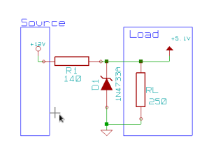 Simple Zener Rectifier